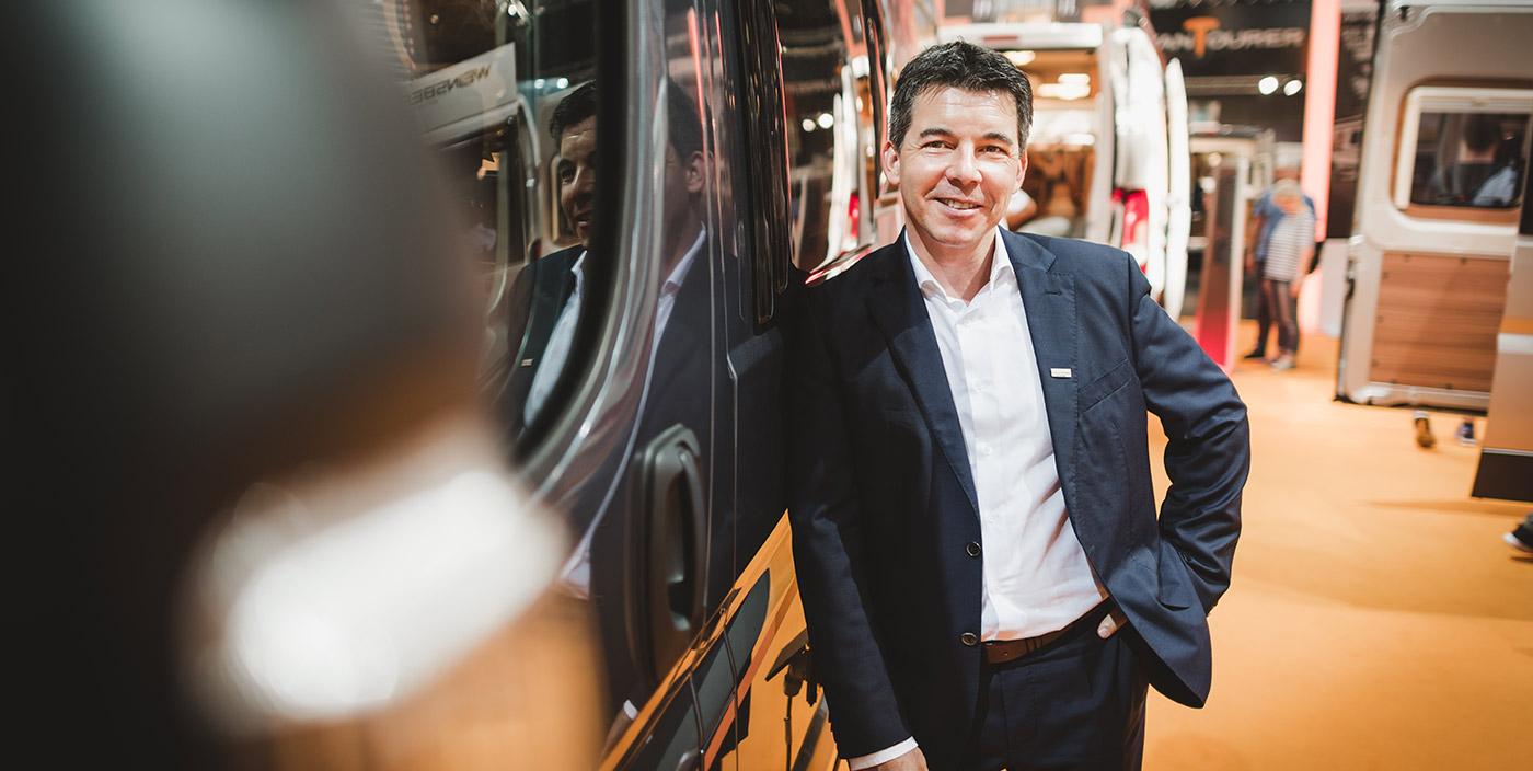 Die WEINSBERG-Messe-Interviews: Das ist Produktmanager Stefan Kreuz