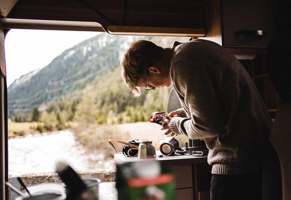 Kaffee darf hier natürlich nicht fehlen.