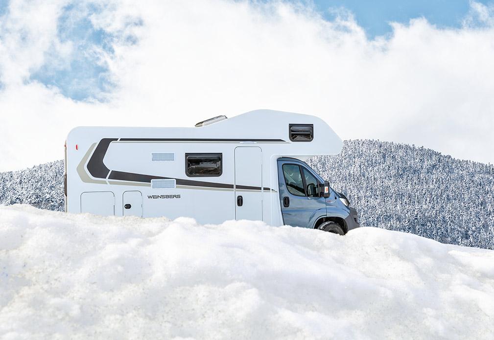 Der Winter kommt näher – höchste Zeit dem Reisemobil eine Pause zu gönnen.