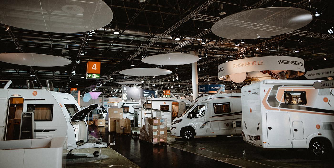 "WEINSBERG am Caravan Salon Düsseldorf: Die ""Ruhe"" vor dem Sturm"