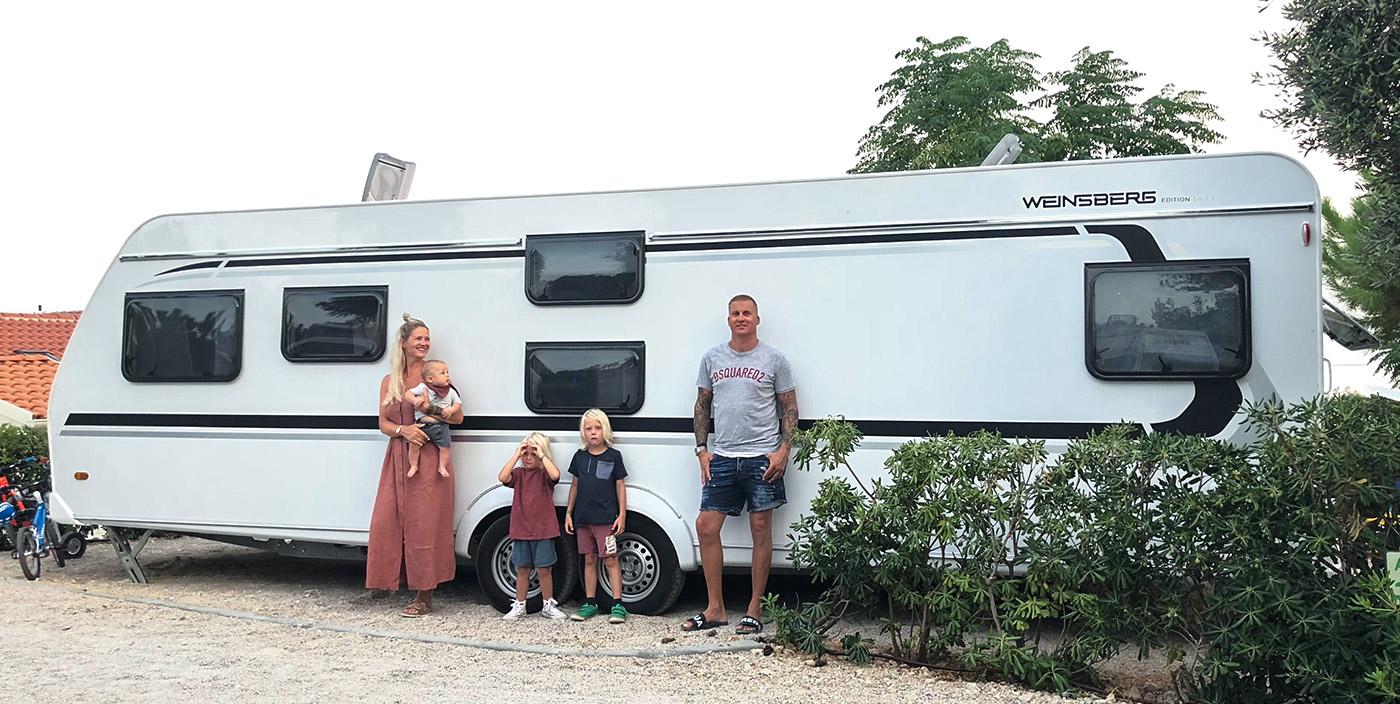 Mit dem CaraOne EDITION [ICE] im Familienurlaub