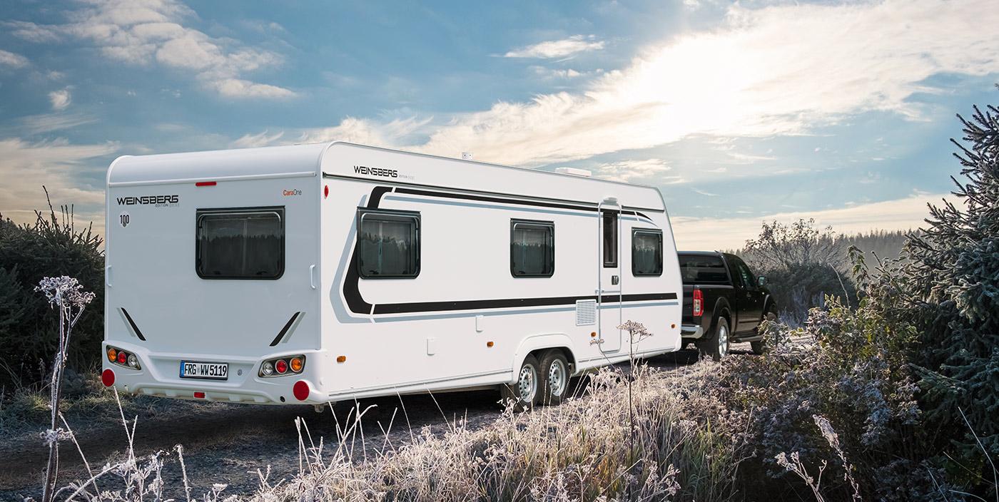 Richtig einwintern: Wohnmobil und Caravan fit für den Winter machen