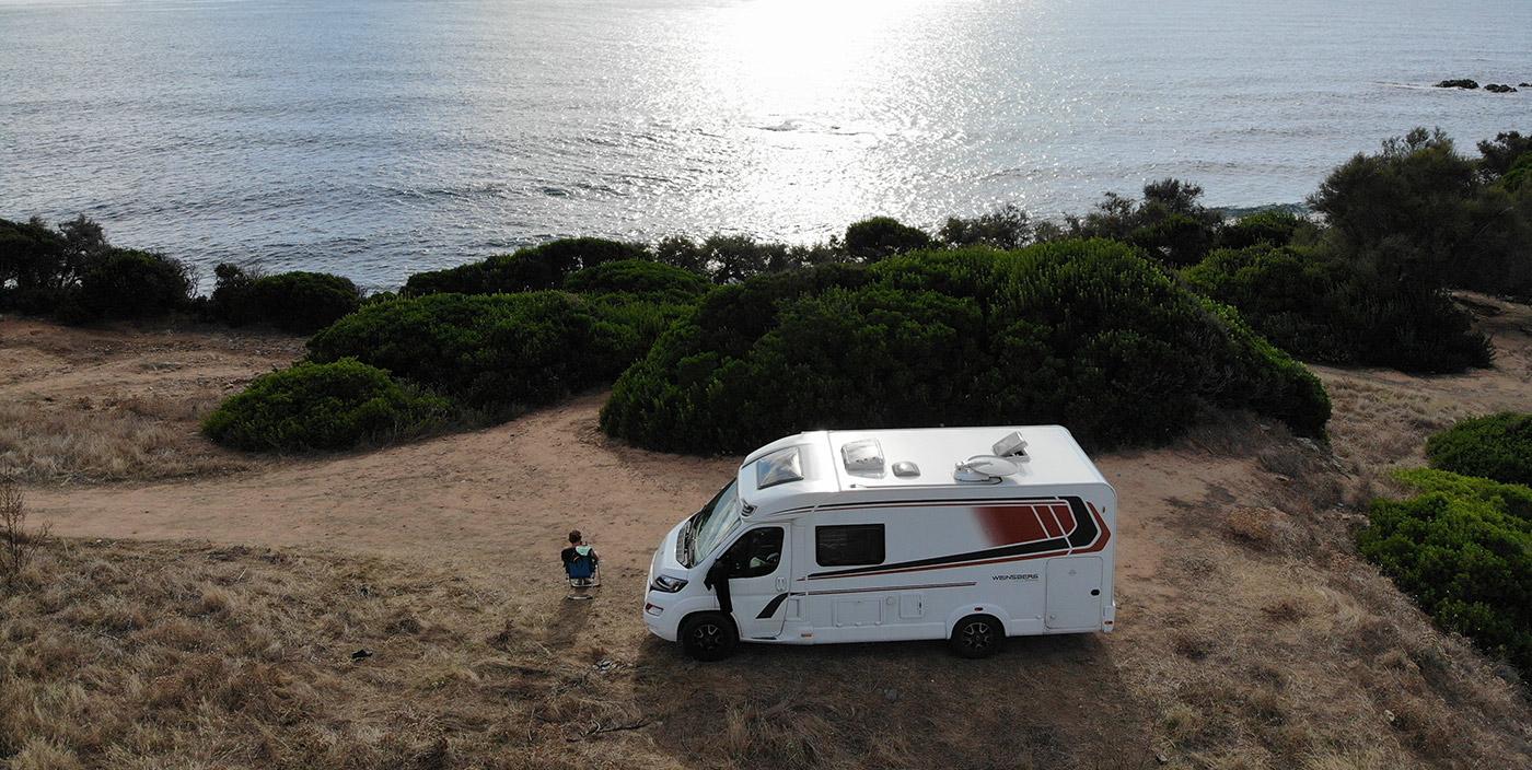 Elternzeit mit dem Reisemobil – Inselhopping im Mittelmeer | Sardinien