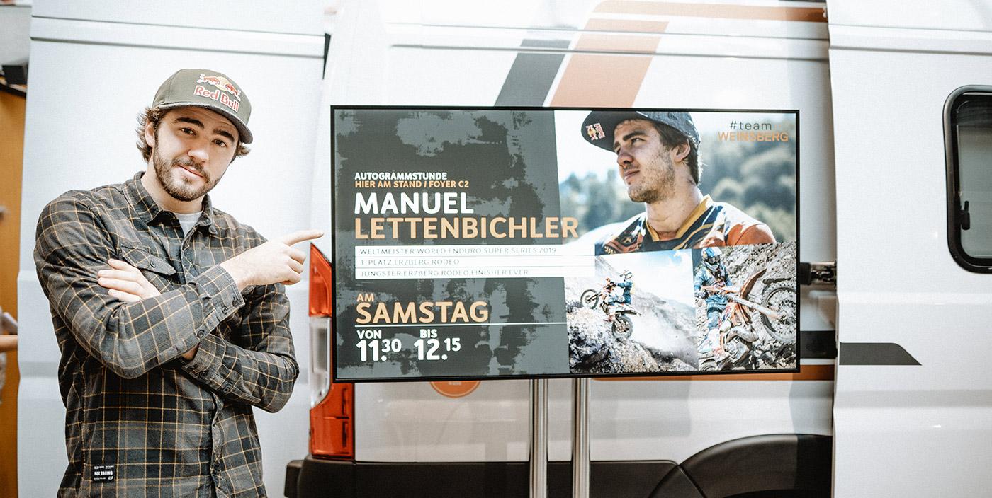 Manuel Lettenbichler: Ein Weltmeister im Messe-Interview