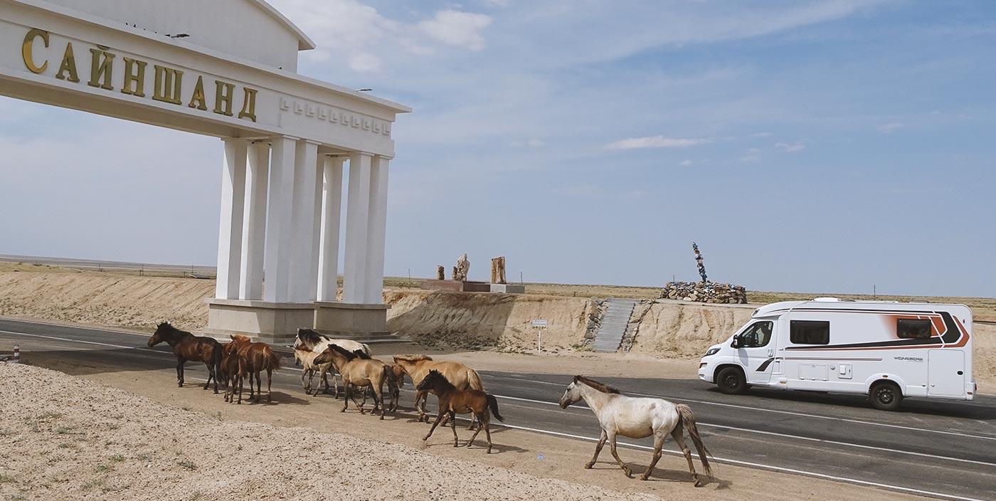 Die Seidenstraße im WEINSBERG Reisemobil erleben   Teil 2: Mongolei und China