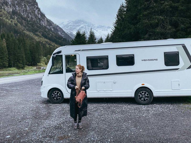 Herbst-Reise im CaraCore: Mit Olivia Marei in den Alpen